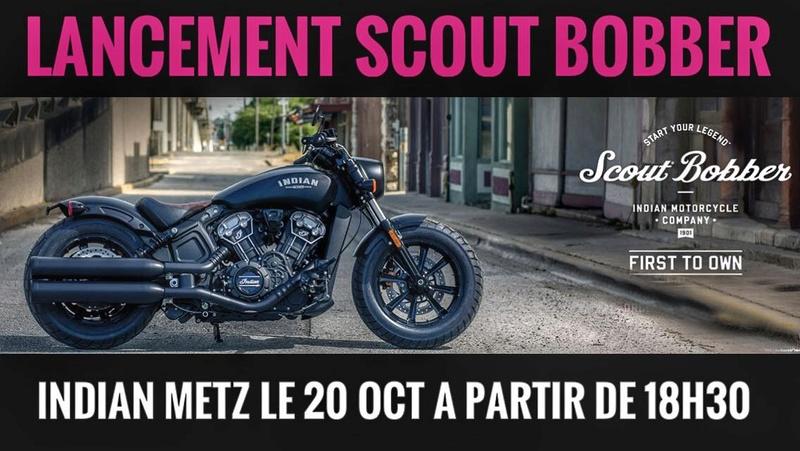 Soirée présentation Scout BOBBER - Indian METZ 21586810