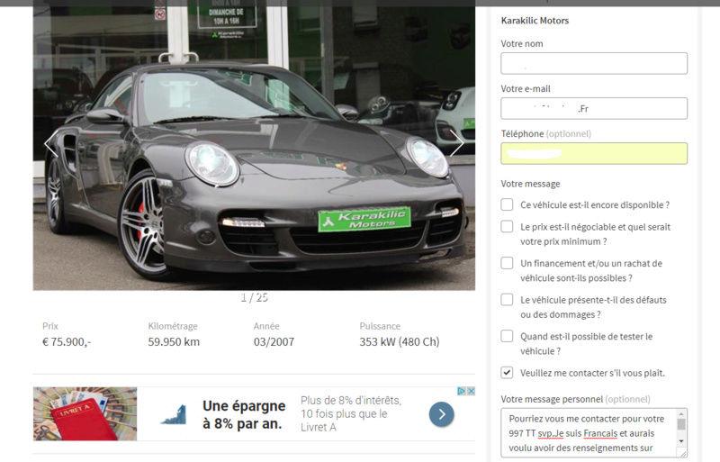 Vente 996 carrera prix 22000€ à négocier  - Page 2 Captur10