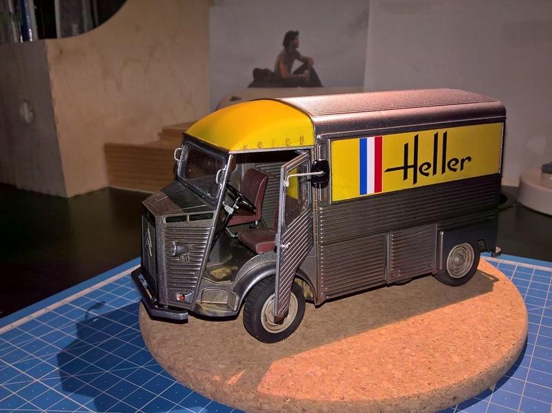 Citroën Type H (Heller 1/24e) 14731110
