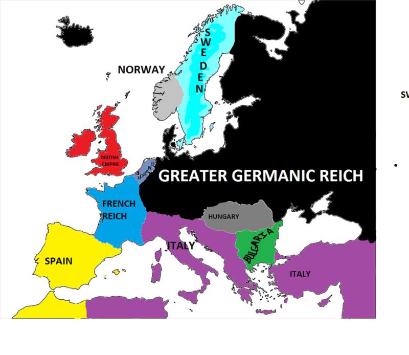 My Axis Victory Scenario Weltkr10