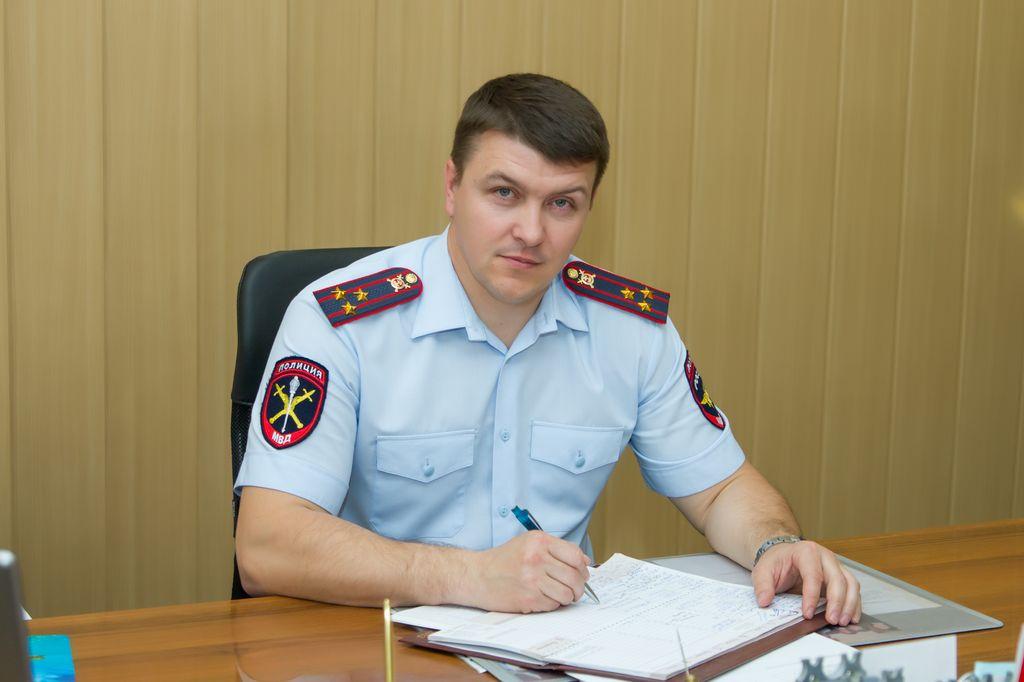 Начальник Управления МВД, полковник полиции - Васнецов Александр Васильевич. Og7_2610