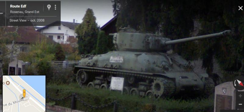Les chars de la 2°DB en France. Rosene10