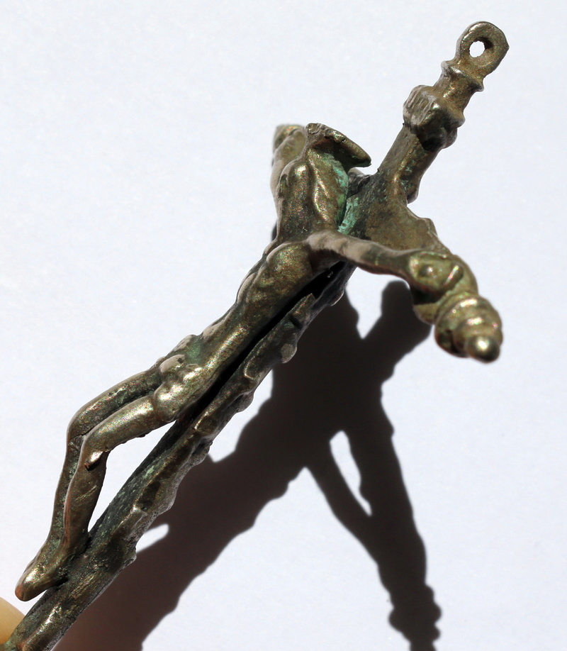 Crucifijo plata S.XVI falso?  Img_6410