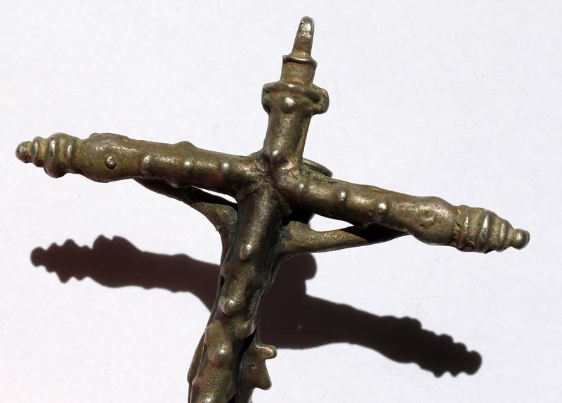 Crucifijo plata S.XVI falso?  Img_6413