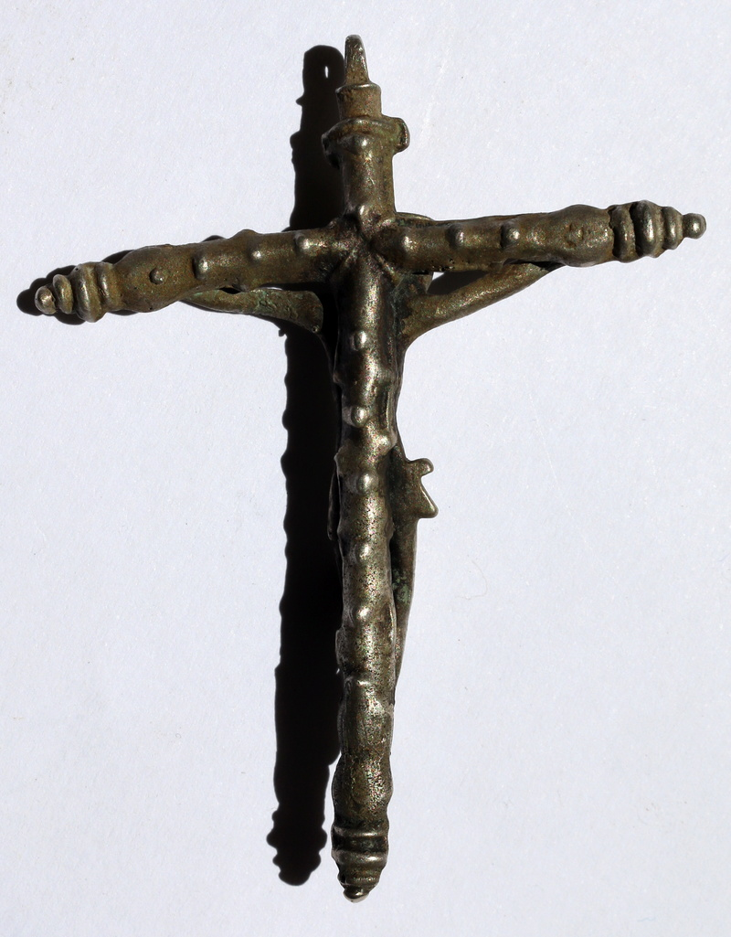 Crucifijo plata S.XVI falso?  Img_6414