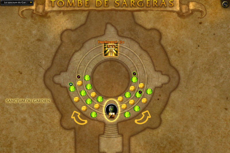 Tombe de Sargeras : damoiselle de Vigilance Damois11