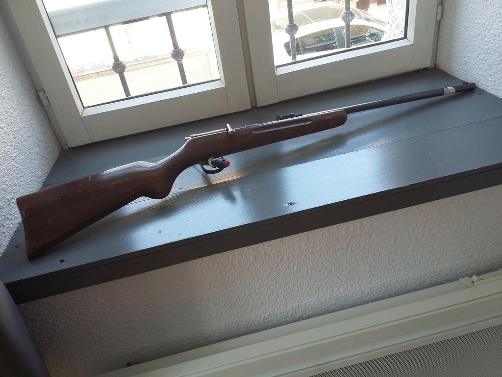 Restauration carabine en 22lr Alllemande 20170418
