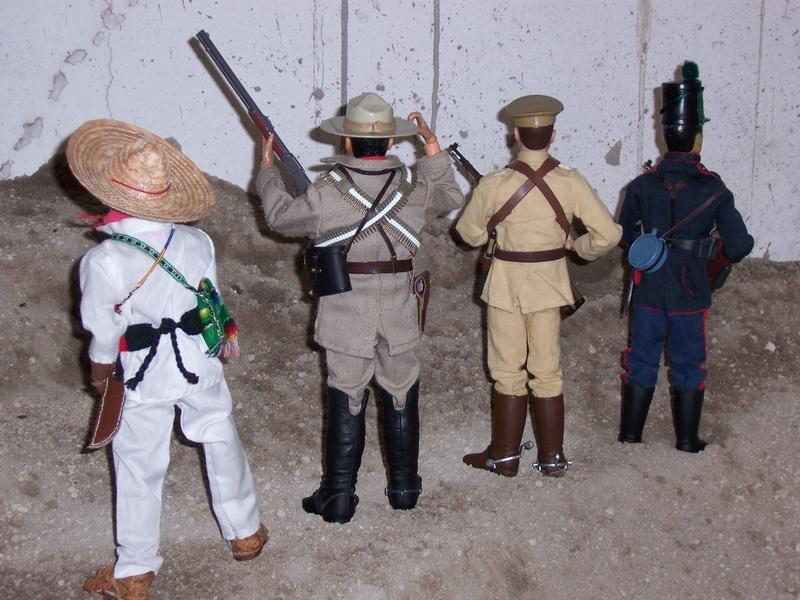 1910-1921 Révolution Mexicaine, prélude to WW-I Joes-o14