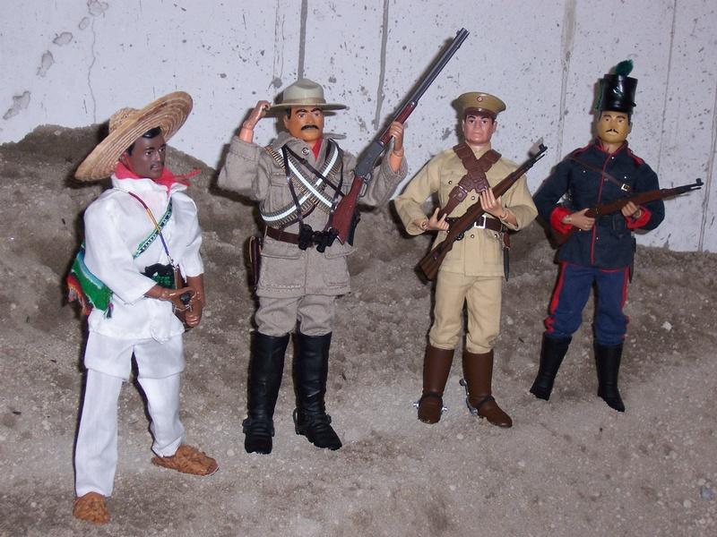 1910-1921 Révolution Mexicaine, prélude to WW-I Joes-o15
