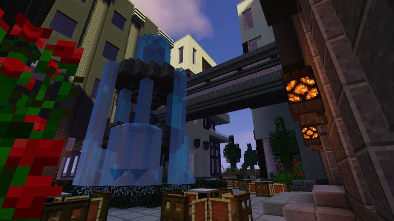 CREATIVE BUILD] Previous Minecraft Build