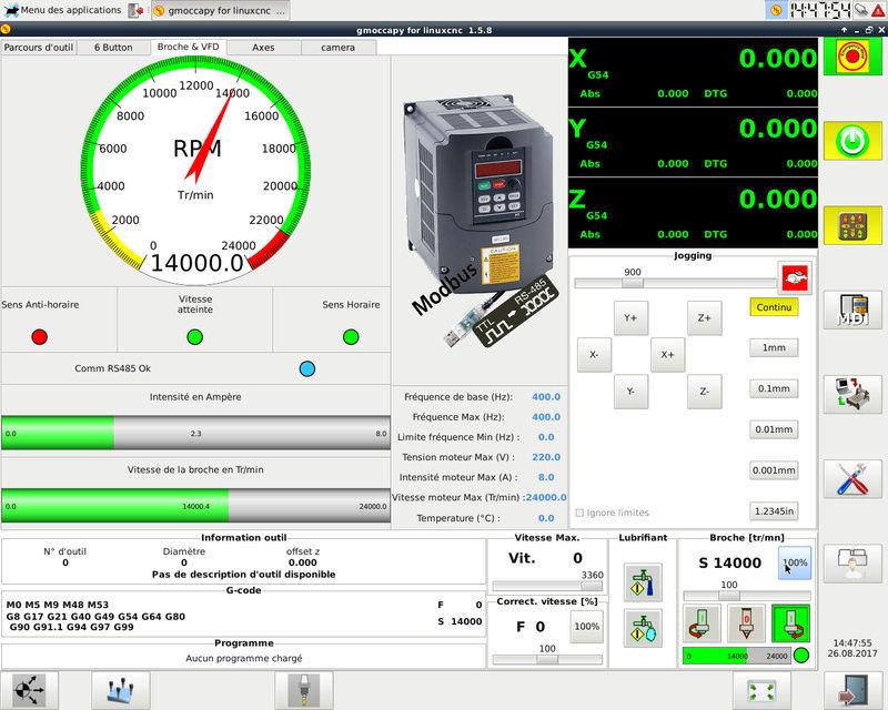 Broche VFD Huanyang - Problème courant excessif en mode reverse  Captur10