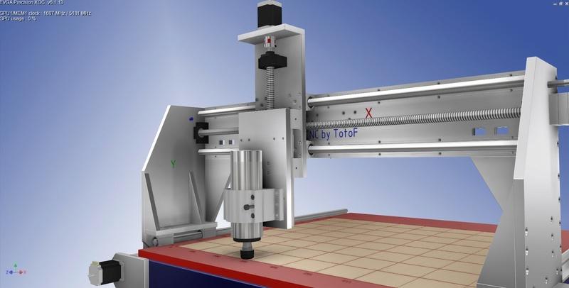 Ma future machine CNC Invent22