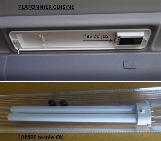 Plafonnier lumière cuisine HS Plafon10