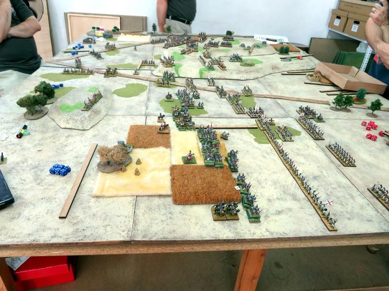 Batalla de Medina de Rioseco, 22-07-2017. 1210