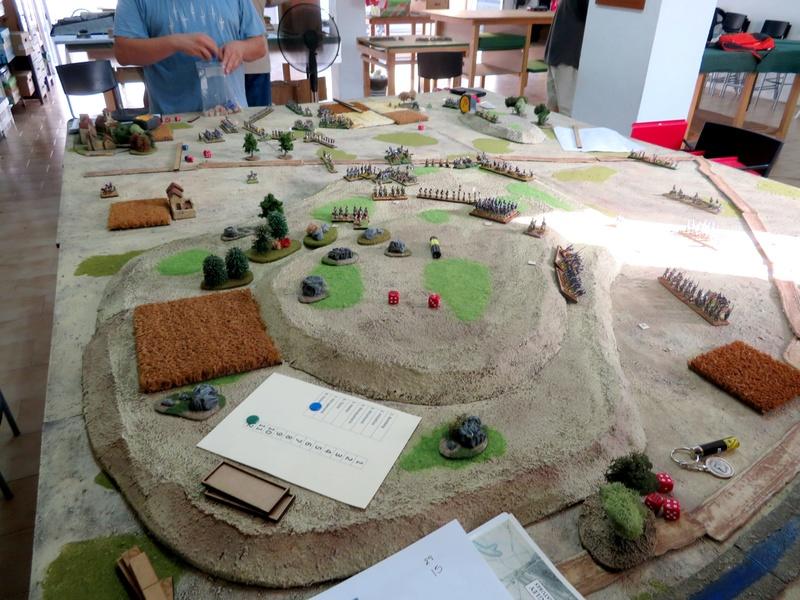 Batalla de Medina de Rioseco, 22-07-2017. 1610