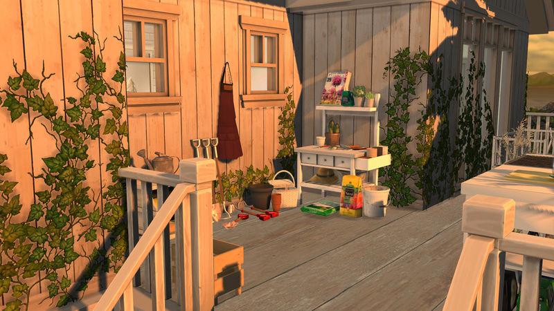 [Galerie Heavenllhy] Mes décorations d'intérieur et mes sims !  03-09-14