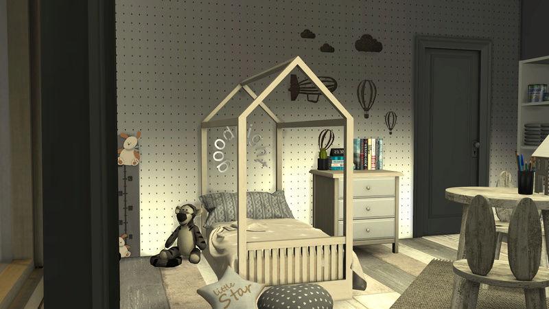 [Galerie Heavenllhy] Mes décorations d'intérieur et mes sims !  03-09-15