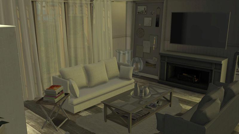 [Galerie Heavenllhy] Mes décorations d'intérieur et mes sims !  03-09-16
