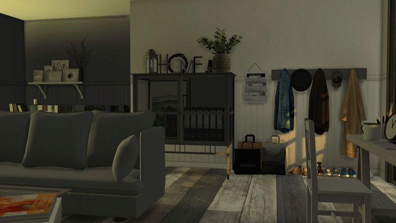 [Galerie Heavenllhy] Mes décorations d'intérieur et mes sims !  03-09-17