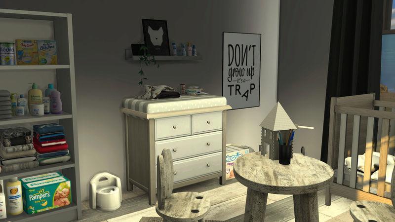 [Galerie Heavenllhy] Mes décorations d'intérieur et mes sims !  03-09-19
