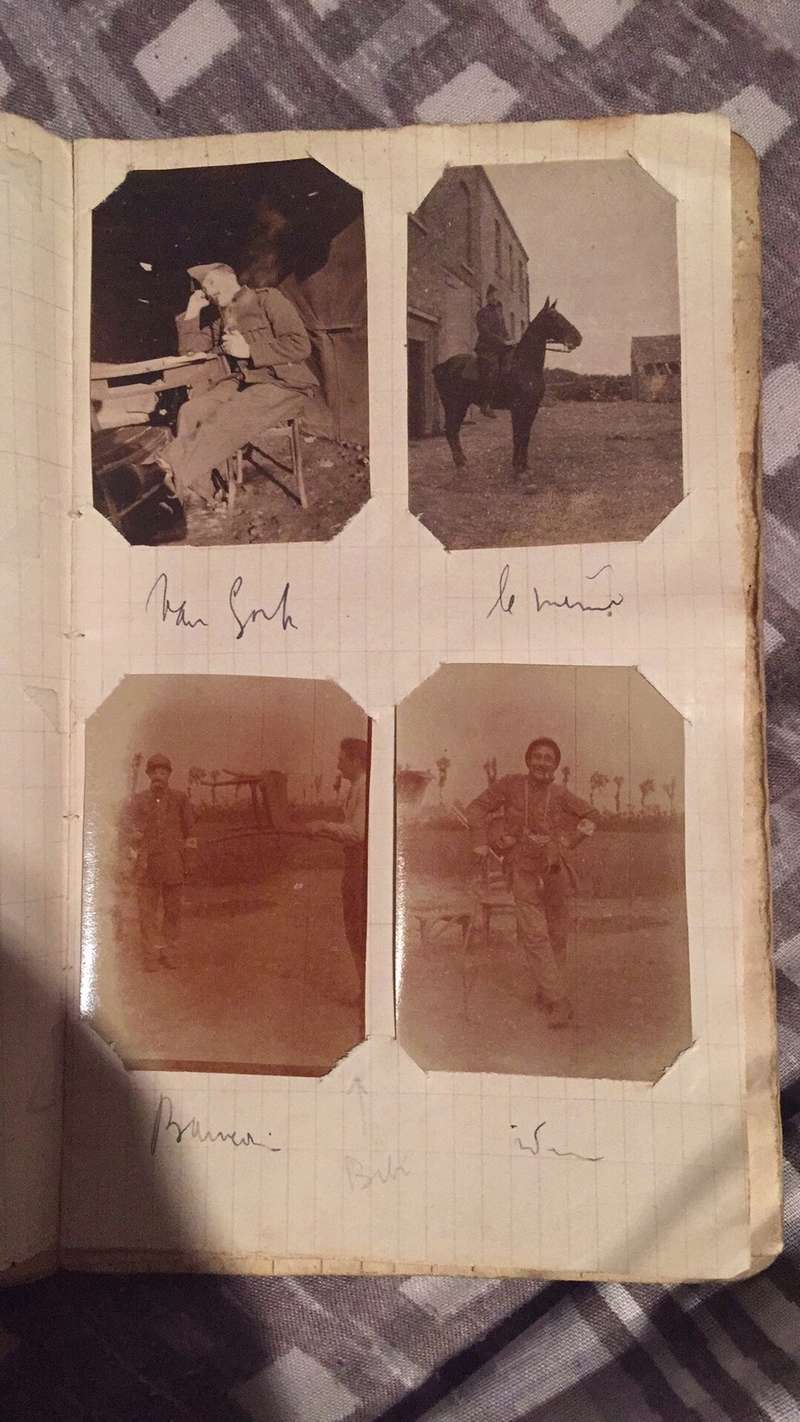 Lot caporal brancardier ww1 Img_1944