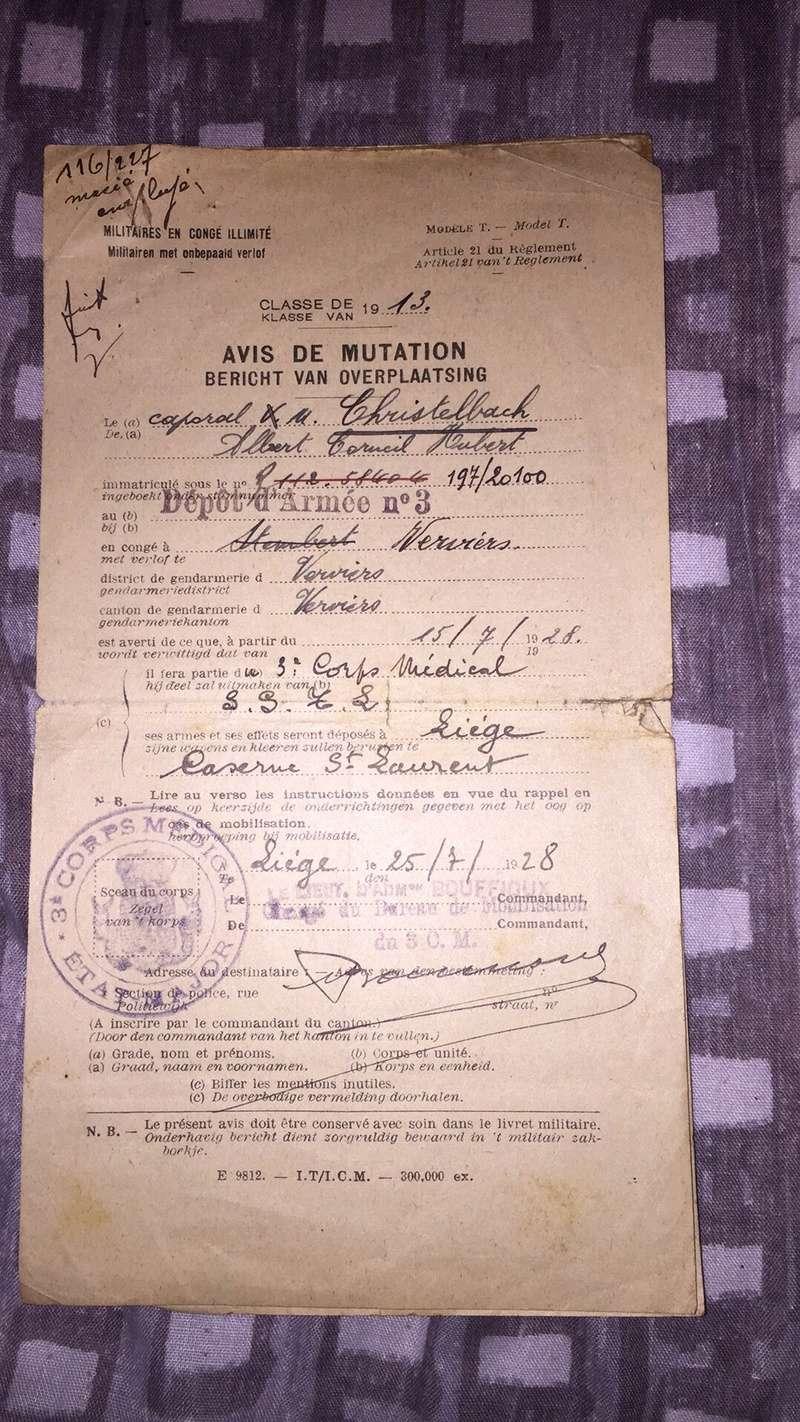Lot caporal brancardier ww1 Img_1955