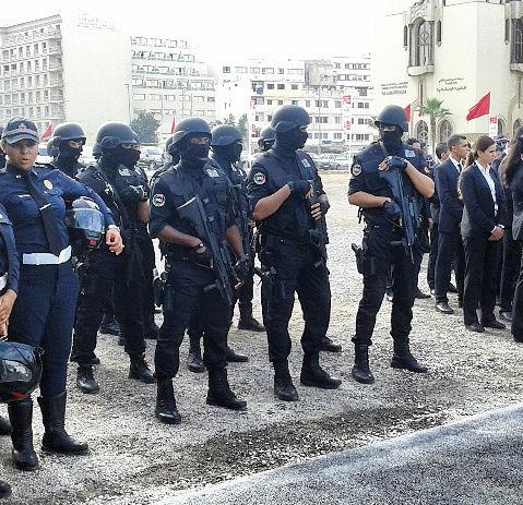 Moroccan Special Forces/Forces spéciales marocaines  :Videos et Photos : BCIJ, Gendarmerie Royale ,  - Page 11 21731110
