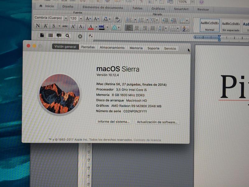 iMac retina end 2014 5k 27' y Macbook air mid 2011 13' Img_0613