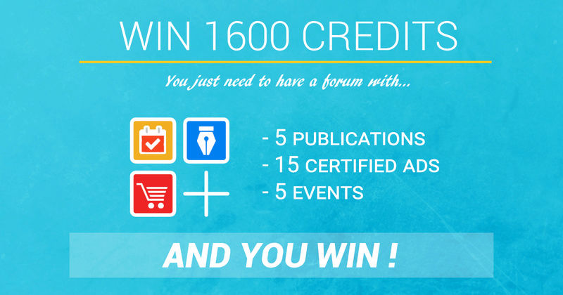 Mag celebration : Share some contents on the Mag Forumotion and win credits for your forum ! Jeu-en10
