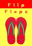 Watermelon Flip Flops T211