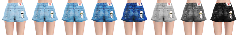 Estherloveschuu ♥ Denim Shorts  T213