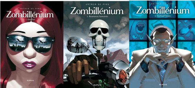 Zombillénium (3 tomes), Arthur de Pins Zombil10