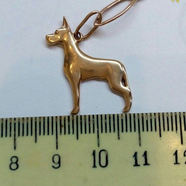Золотые и серебряные подвески с догами In_sta11