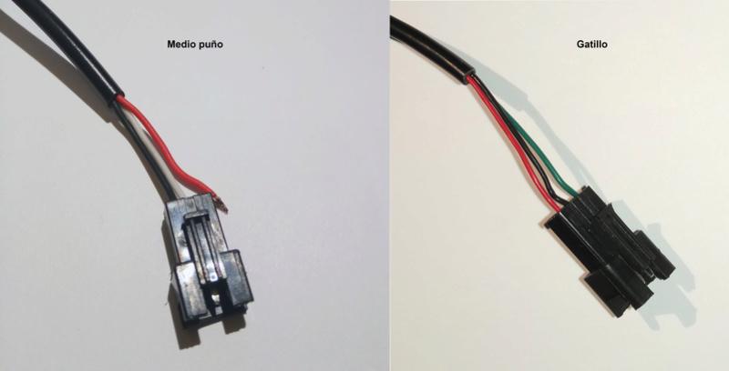 Sustitución acelerador Conect10