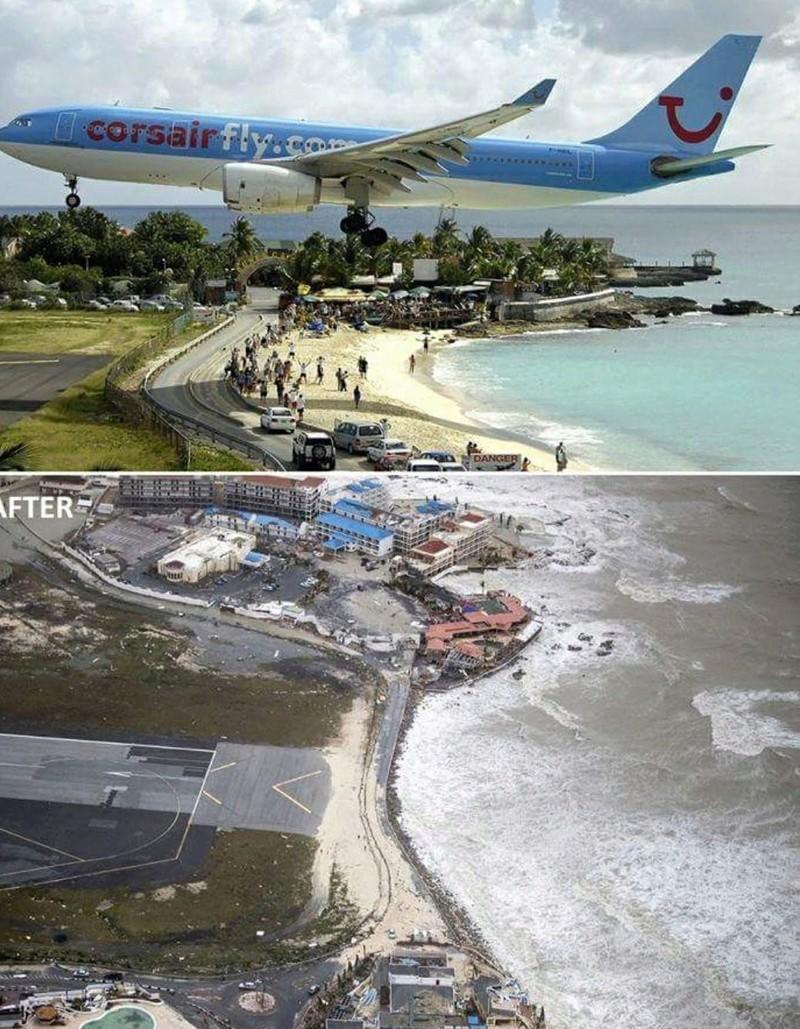 St Marteen sofreu com o furacão Irma 21318910