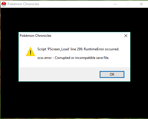 how to repair corrupted save file? Chroni12