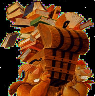 Choisis un livre dans la malle au trésor d'un ami naufragé - les règles Books_10