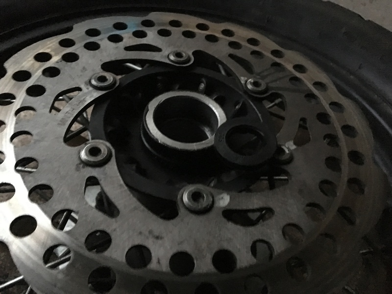 Заміна підшиника заднього колеса RX3 Moto_412