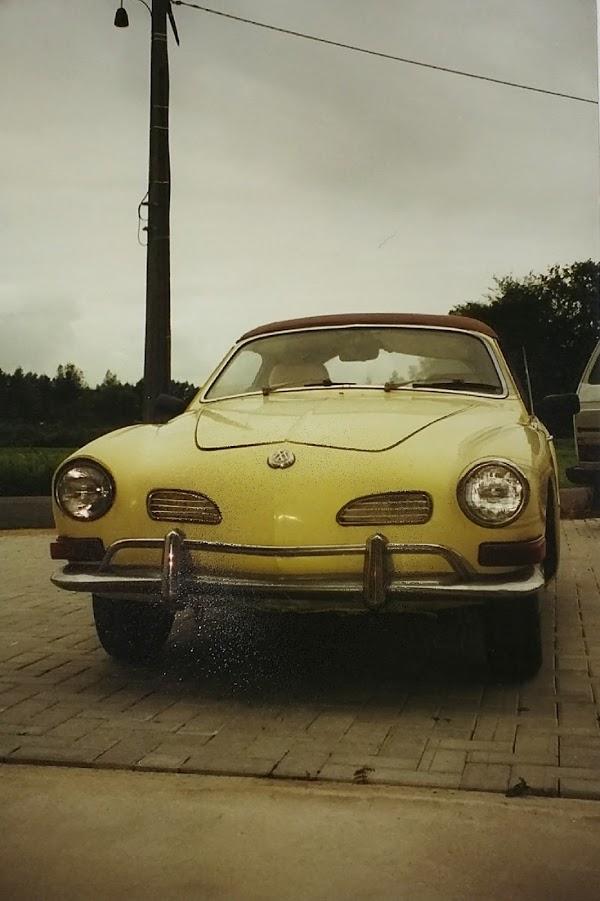 Karmann Cabrio 1970 qui a dormi 20 ans - Belgique 15015216