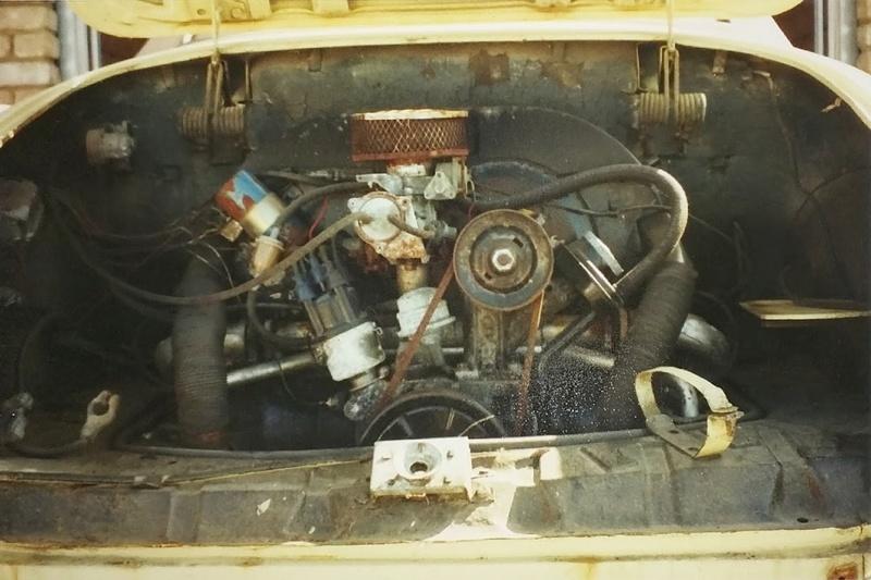 Karmann Cabrio 1970 qui a dormi 20 ans - Belgique 15015219