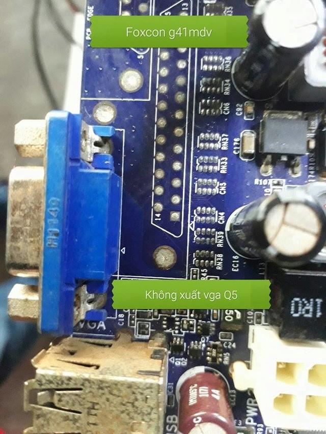 [Foxcom] Foxcon G41 MD có bip lên nhưng không xuất hình 20527311