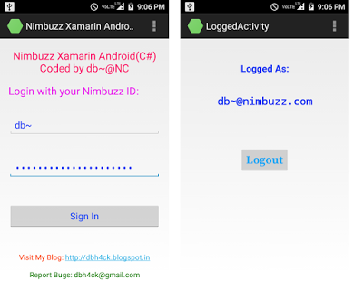 Android: Xamarin Android (C#) Sample Xmpp Nimbuzz using Socket Connection (TcpClient) Okaydb10