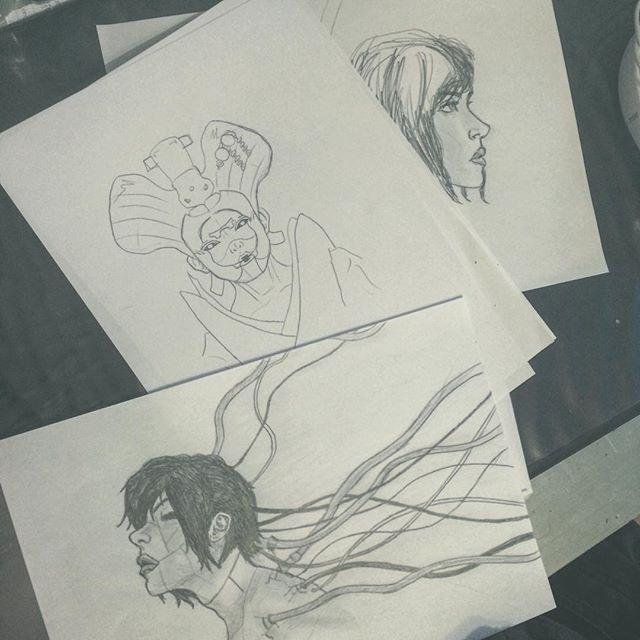Deux trois dessins ! 18580311
