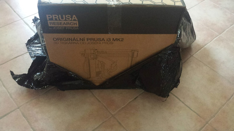 it is arrived !!! imprimante 3D Original Prusa i3 MK2S 20170811