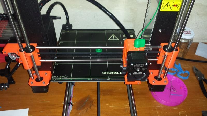 [TUTO imprimante 3D] Imprimer en couleur avec un seul extrudeur V1 20170922