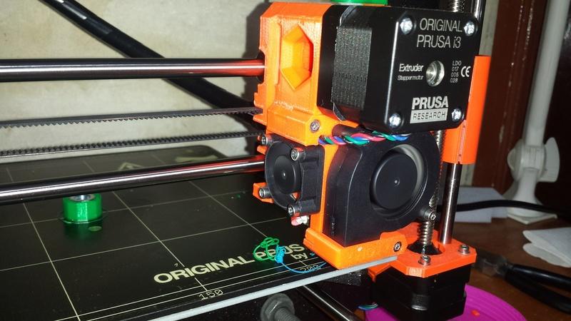 [TUTO imprimante 3D] Imprimer en couleur avec un seul extrudeur V1 20170924