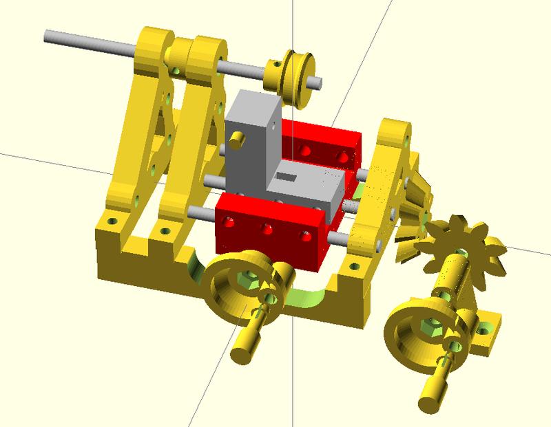 modélisation paramétrique sous Openscad Assemb11
