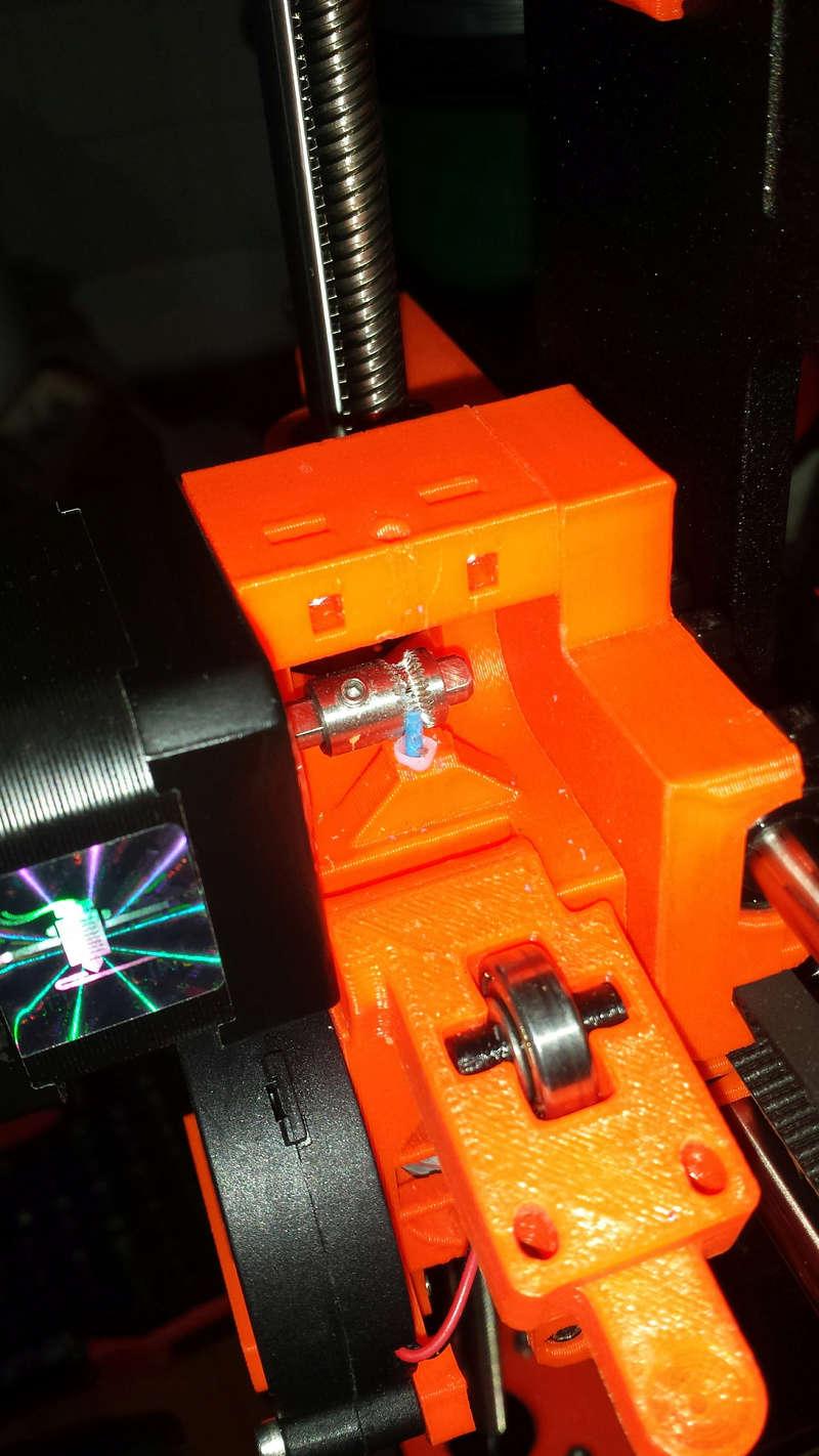 it is arrived !!! imprimante 3D Original Prusa i3 MK2S - Page 6 Extrud11