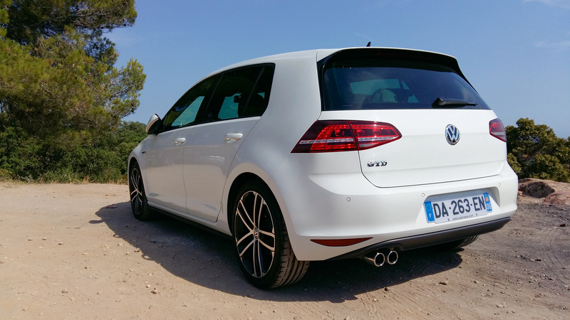 VW GOLF VII GTD Blanc Pur de 2014 111