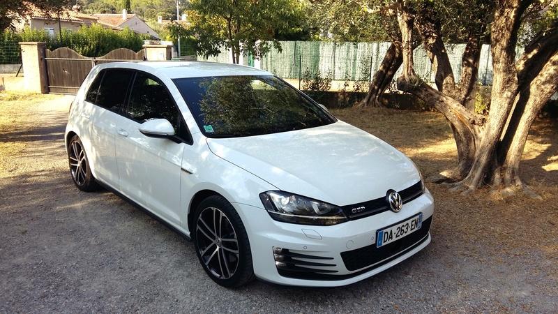 VW GOLF VII GTD Blanc Pur de 2014 211
